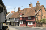Cottages in Saffron Walden, Essex