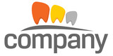 Dental practice teeth logo