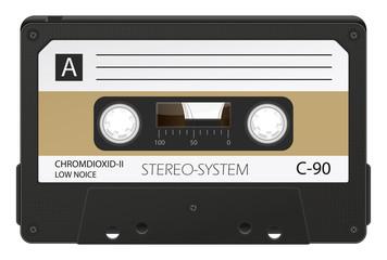 Audiokassette, Tonkassette, Musikkassette, Retro, 80er