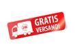 Gratis Versand - Sticker