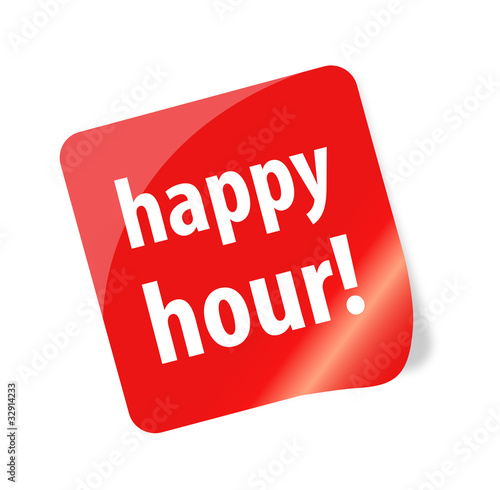 Happy Hour Sticker