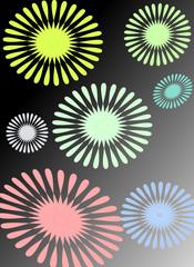 幾何学模様のバックグラウンド