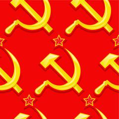 Sovietic Seamless Pattern