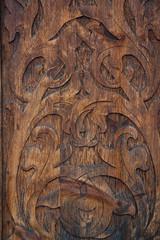 fondo di legno vecchio intagliato