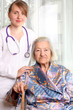 Doctor with senior