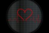 Electro con símbolo del corazón poster