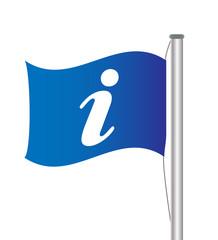 Info Flagge Hissen