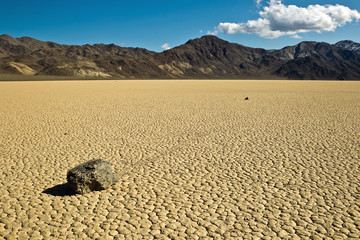 Racetrack Playa, Death Valley National Park, California.