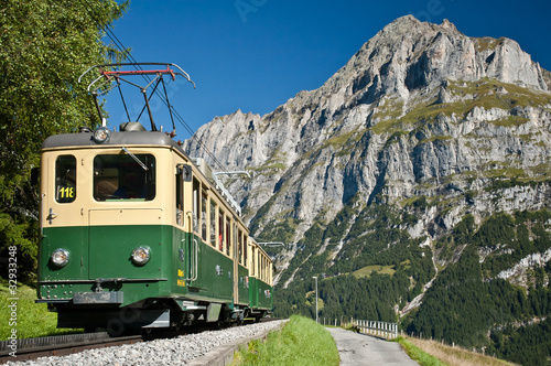 cable train in grindelwald