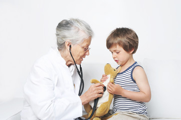 Vertrauensvolle Ärztin