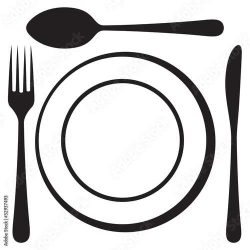 Fork Knife Vector Free Download Vector Knife Fork Spoon And