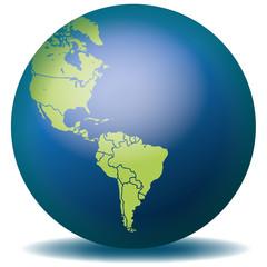 Weltkarte Landkarte Amerika Nordamerika Südamerika Karte 1