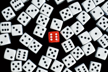 above six dice