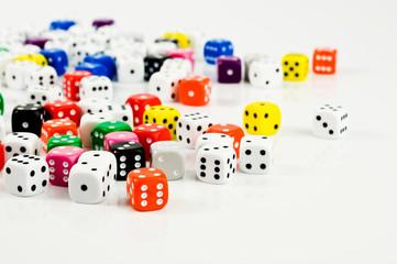many dice