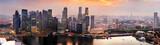 Fototapety Singapore at sunset