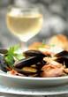 Seafood soup - Zuppa di frutti di mare