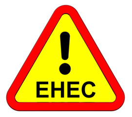 EHEC - warning sign.