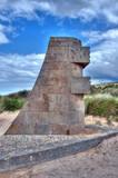 Monument signal à Graye-Sur-Mer poster