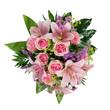 Blumenstrauss mit Lilien