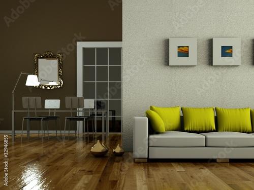 Modernes Wohnzimmer Braun | Badezimmer & Wohnzimmer Wohnzimmer In Grun Und Braun