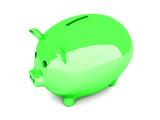 Grünes Sparschwein