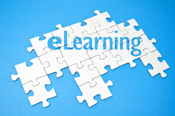 Puzzle mit E-Learning