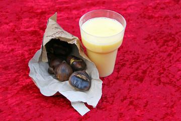 eggnog und maronen