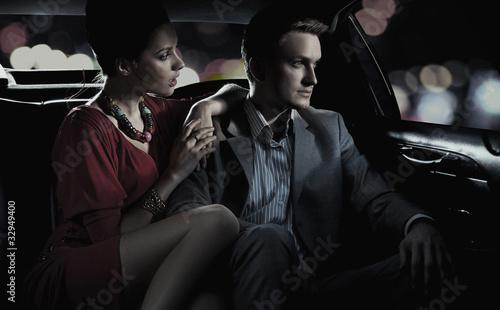 Fototapete Automovil - Hintergrund - Paar