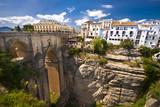 Panoramic view of Ronda, Andalusia, Spain