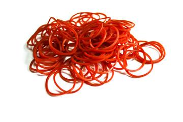 Red elastic band