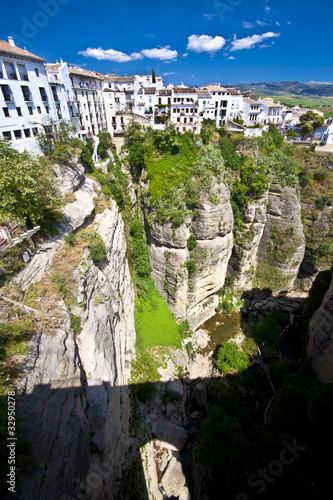 Panoramic view of Ronda, Andalusia, Spain