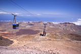 Cable car on Canary Island