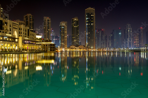 Dubai at night,
