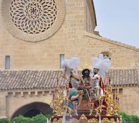 Jesús humilde en la coronación de espinas,semana santa Córdoba