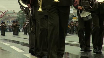 Feet military order