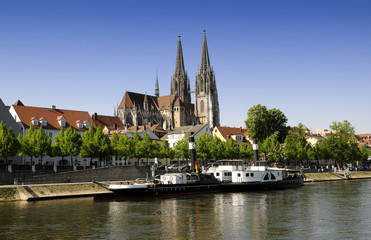 Regensburg im Frühjahr