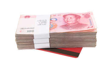 yuan and bank book