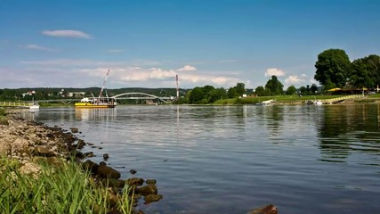 Ferry Dresden-Saxony Germany