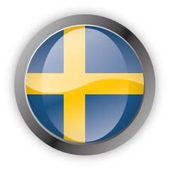 Button Europa - Schweden Sweden Sverige