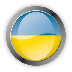 Button Europa - Ukraine Ukrajina