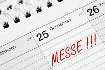 Messe Termin