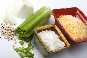 Variety of Ingredients for Chili
