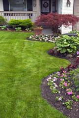 Manicured Spring Garden