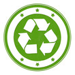 recycling green stamp