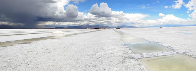 Le saline di salinas grandes nelle ande argentine