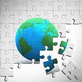 3d Jigsaw puzzle world