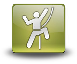 "Yellow 3D Effect Icon ""Rock Climbing"""