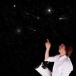 jeune homme astronome