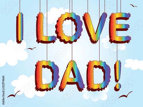 Dad day,poster.