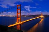 Fototapete Brücke - Golden - Brücke